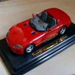BURAGO 1:24 Dodge Viper RT10 1992 Cabriolet Diecast model car @SOLD@